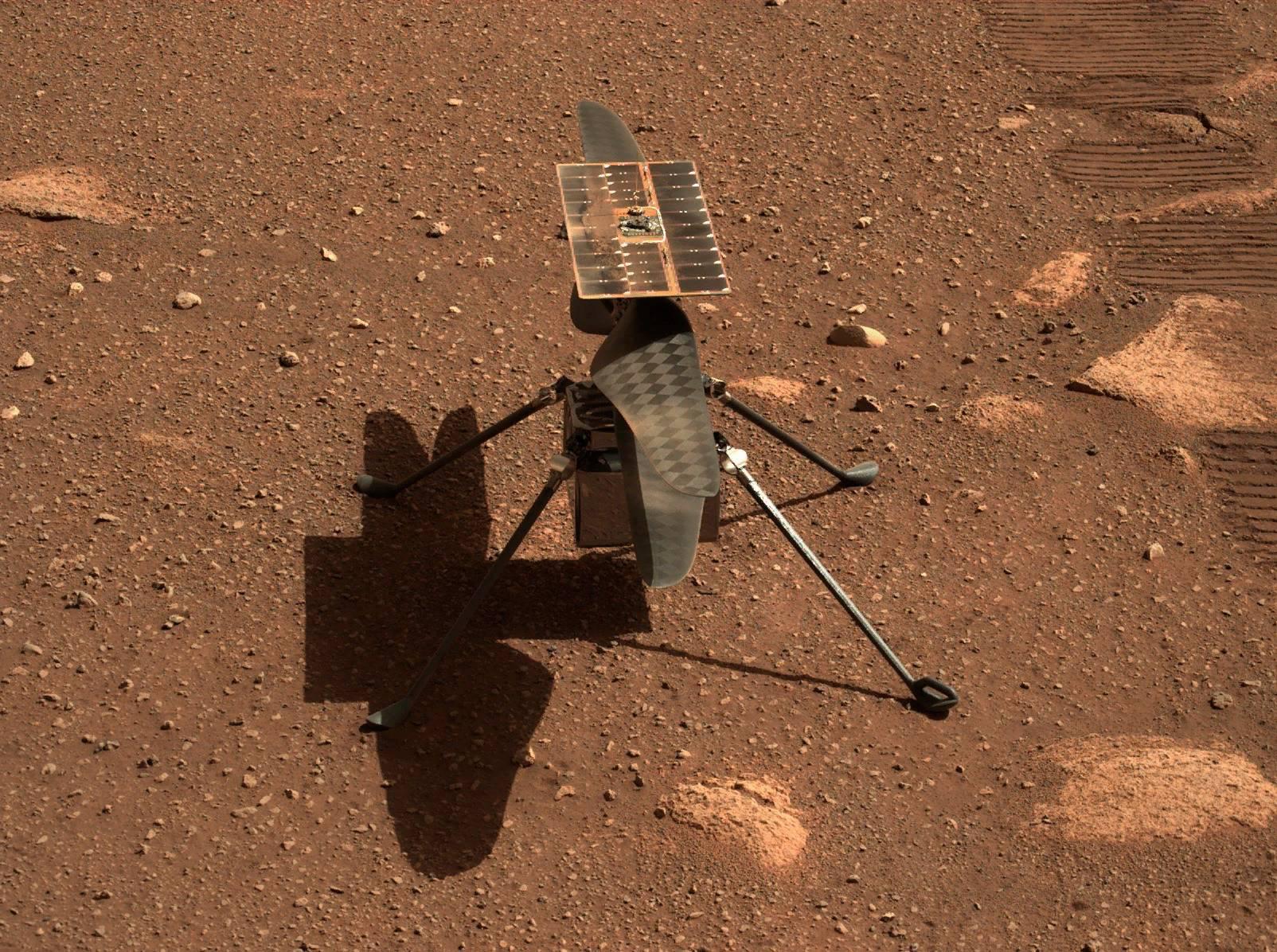 Первый полёт вертолёта на Марсе перенесли из-за неожиданной проблемы