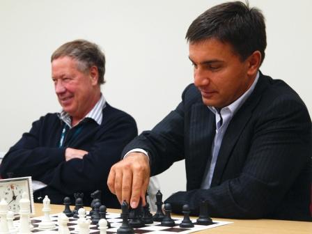 Алексей Устаев является президентом Ассоциации федераций шахмат СЗФО. Фото © Vikingbank.ru