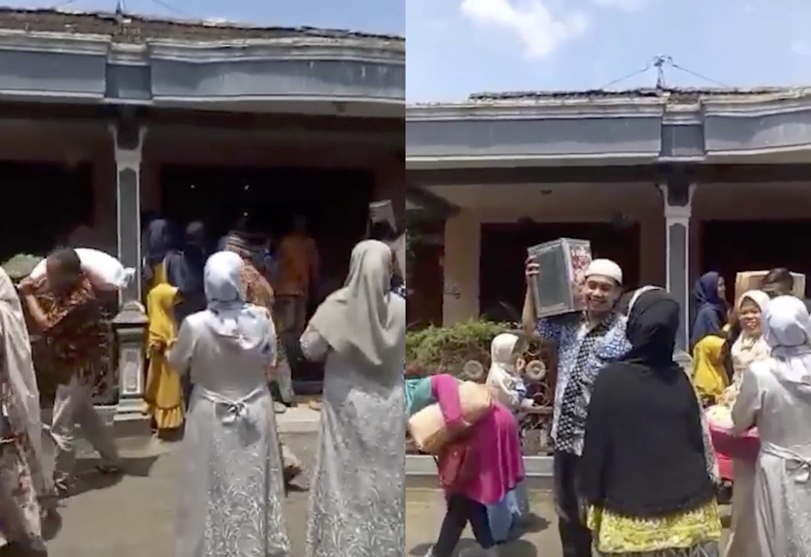 Кадры из видео © Instagram / borobudurnews