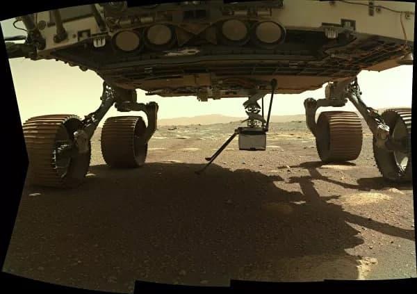Фото © NASA / JPL-Caltech/MSSS