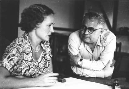 Евдокия и Владимир Петровы. Фото ©Wikipedia