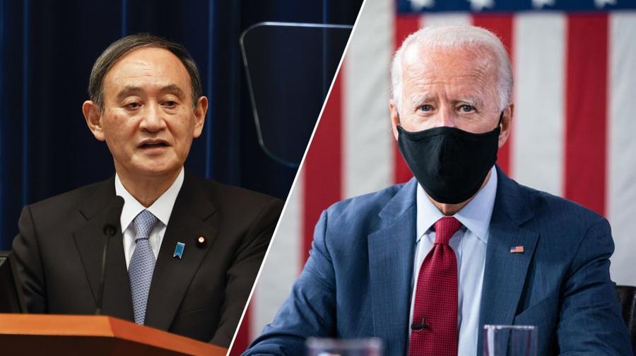 "<p>Ёсихидэ Суга, Джо Байден. Фото © ТАСС / EPA / Rodrigo Reyes Marin / Facebook / <a href=""https://www.facebook.com/joebiden/?__tn__=-UC*F"" target=""_blank"" rel=""noopener noreferrer"">Joe Biden</a></p>"