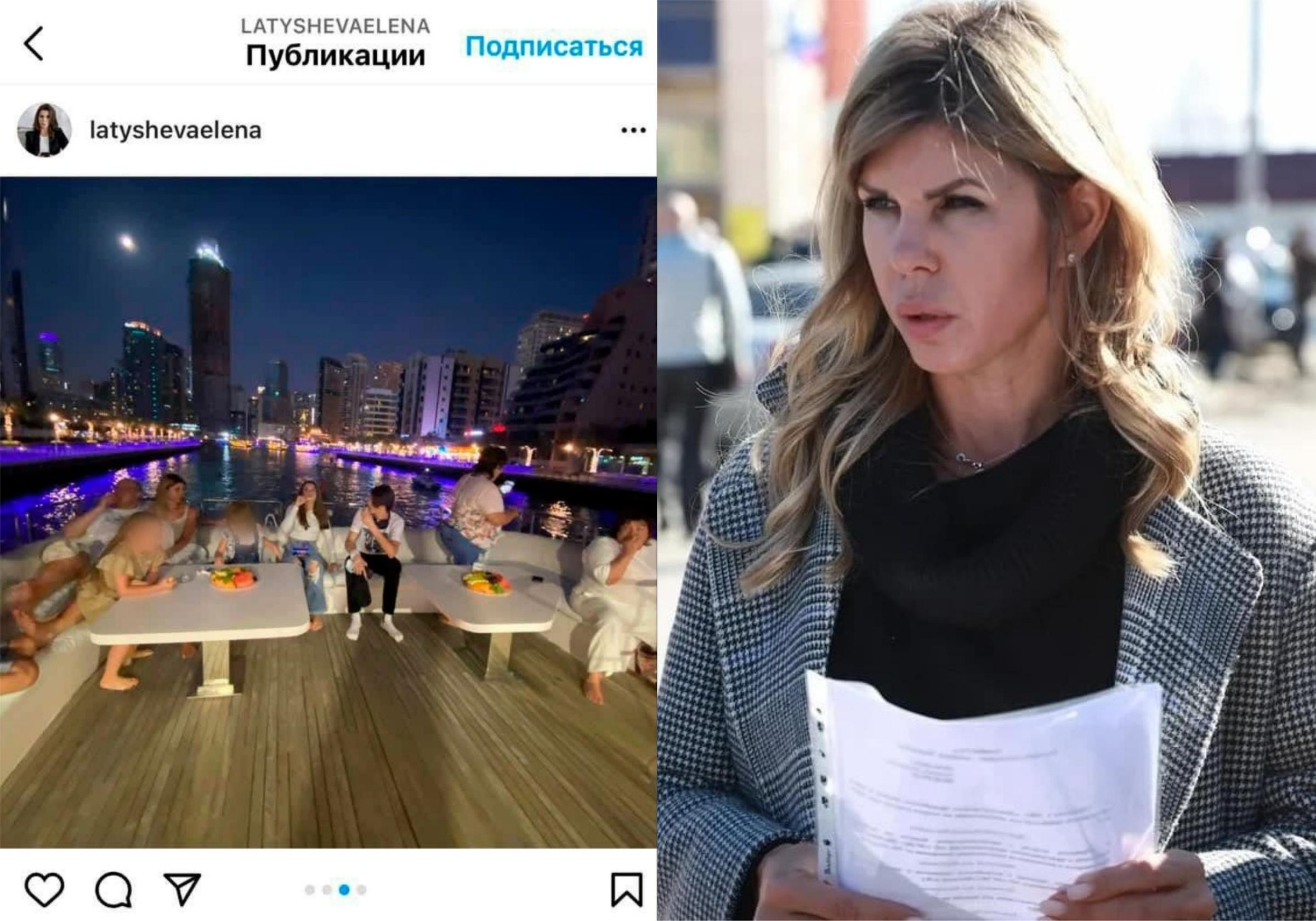 Фото © Telegram / Хомутинников и Instagram / uvarkina_evgenia