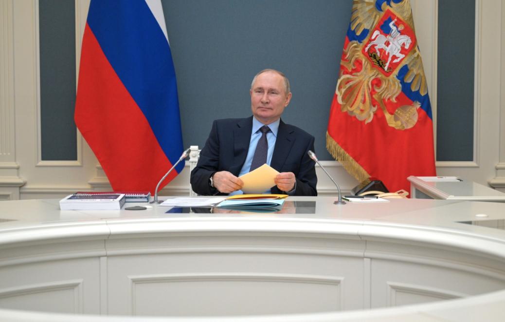 Ленд-лиз, Арктика, коронавирус: Путин провёл заседание попечительского совета РГО после прививки