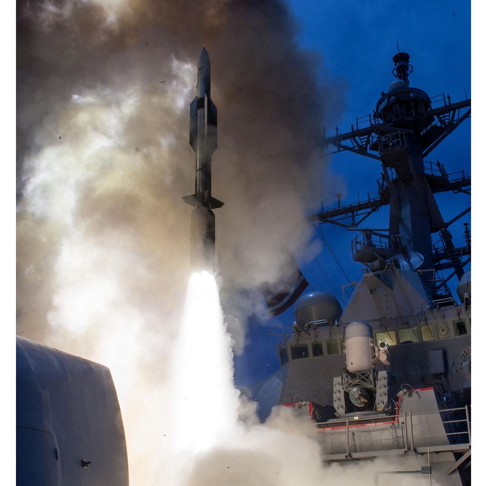 SM-6 — американская зенитная ракета. Фото © Wikipedia