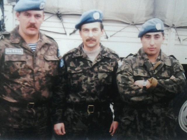 Батыр Бекмурадов на службе. Фото © OK / Дорогие мои сослуживцы (Туркмения)