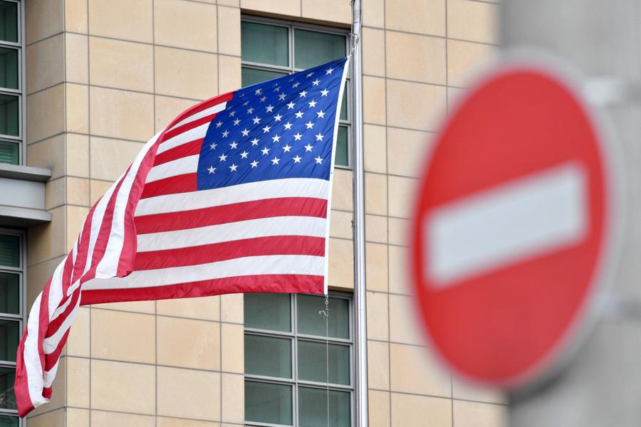 """<p>Посольство Соединённых Штатов Америки в Москве. </p><p>Фото © Агентство """"Москва"""" / Сергей Киселёв</p>"""