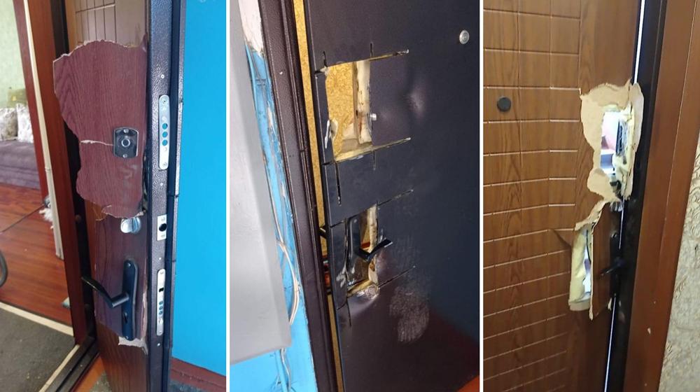 Срезали дверь болгаркой: в Алтайском крае омоновцы по ошибке вломились в квартиру к женщине с двумя детьми