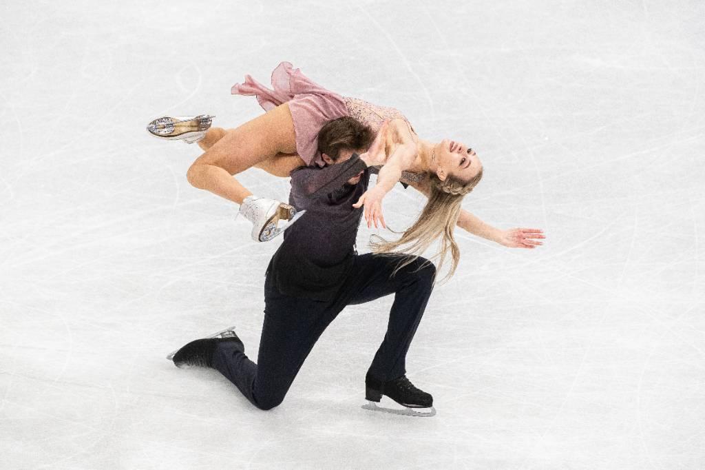 Синицина и Кацалапов выиграли ритм-танец на командном ЧМ