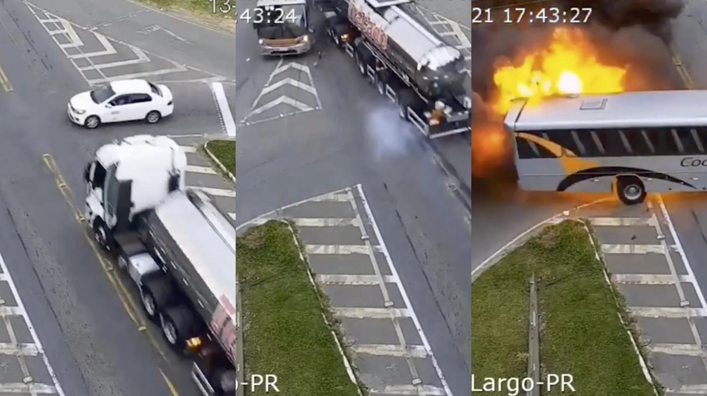 Кадры из видео © Daily Mail