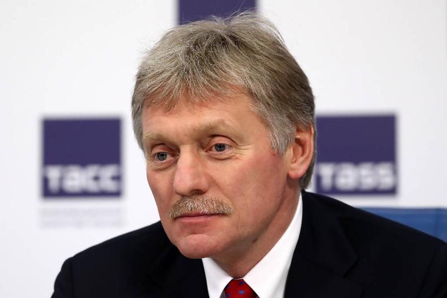 <p>Дмитрий Песков. Фото © ТАСС / Антон Новодережкин</p>