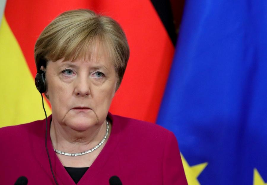 <p>Федеральный канцлер Германии Ангела Меркель.</p><p>Фото © Kremlin.ru</p>