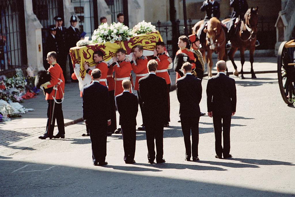Похороны Дианы. Фото © Colin Davey / Getty Images