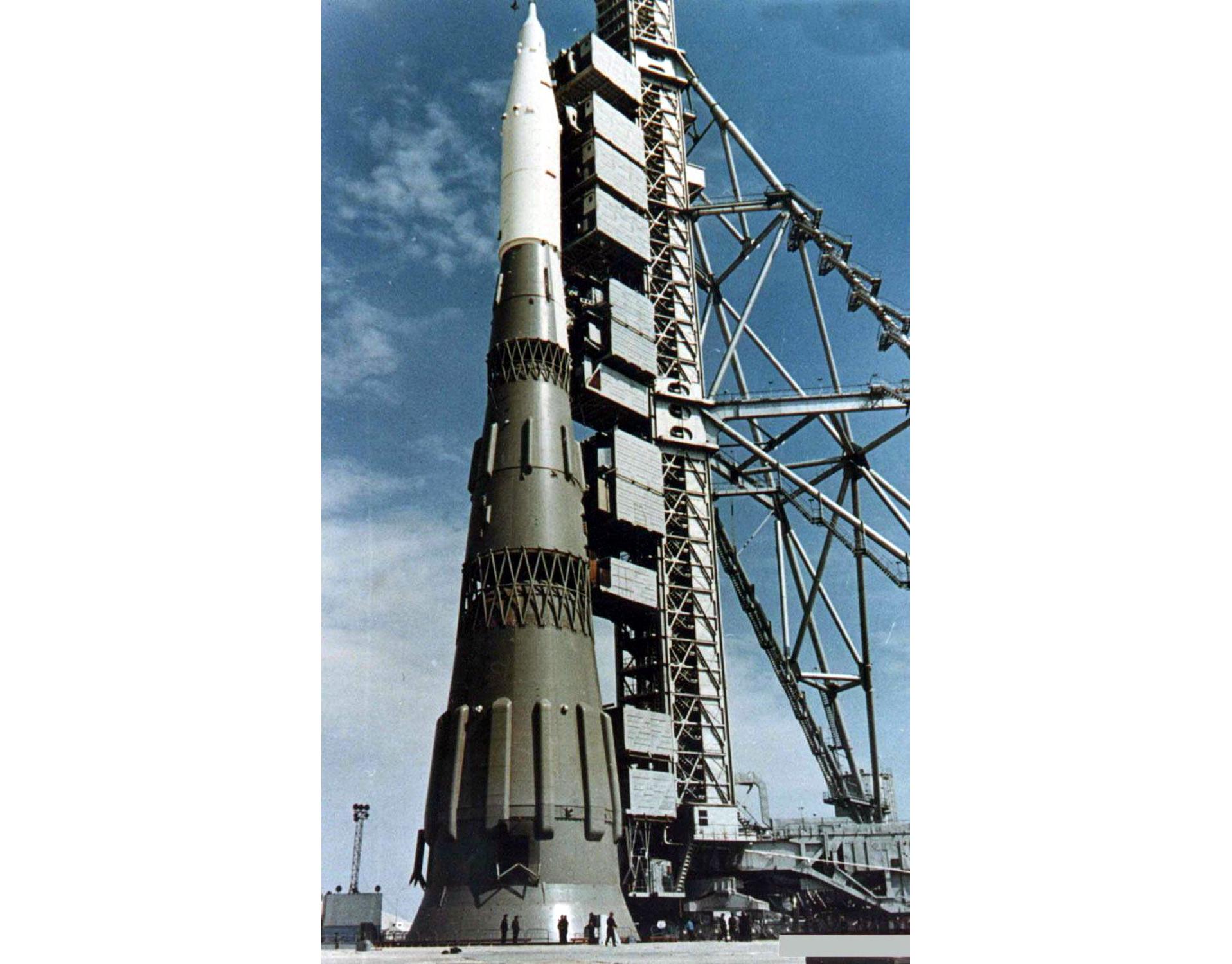 Советская ракета Н-1. Фото © Wikipedia