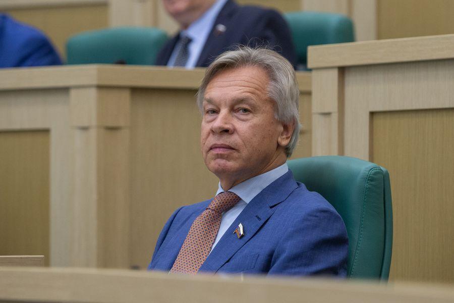<p>Алексей Пушков. Фото © Совет Федерации</p>