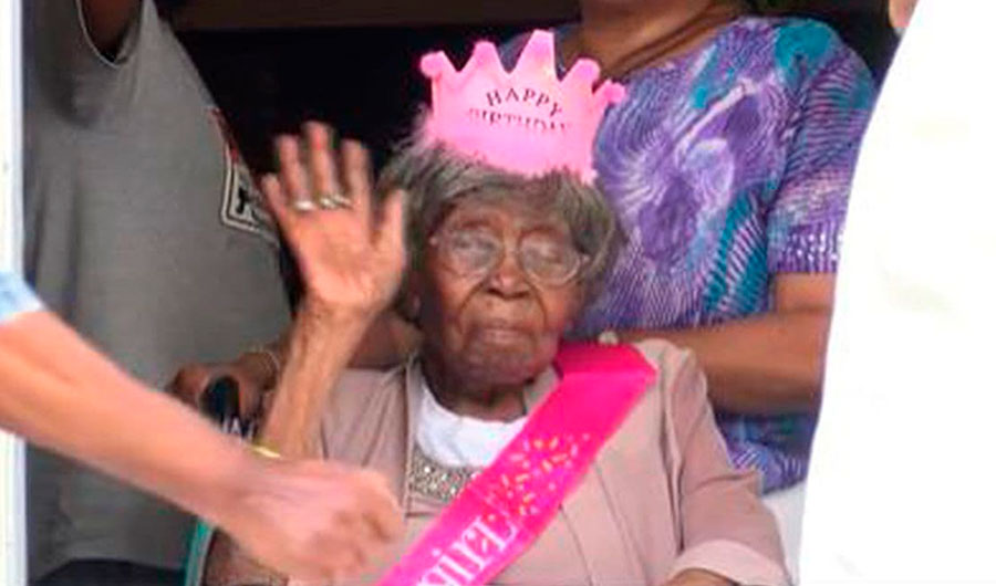"""<p>Хестер Форд. Кадр из видео © <a href=""""https://www.wbtv.com/2021/04/17/charlottes-hester-ford-previously-oldest-living-american-dies-years-old/"""" target=""""_blank"""" rel=""""noopener noreferrer"""">WBTV</a></p>"""