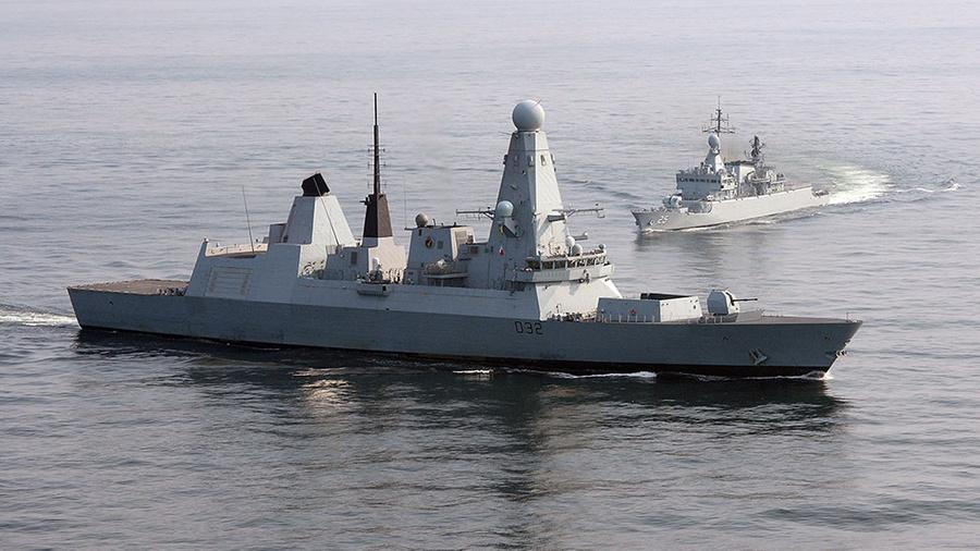 <p>Фото © Royal Navy</p>