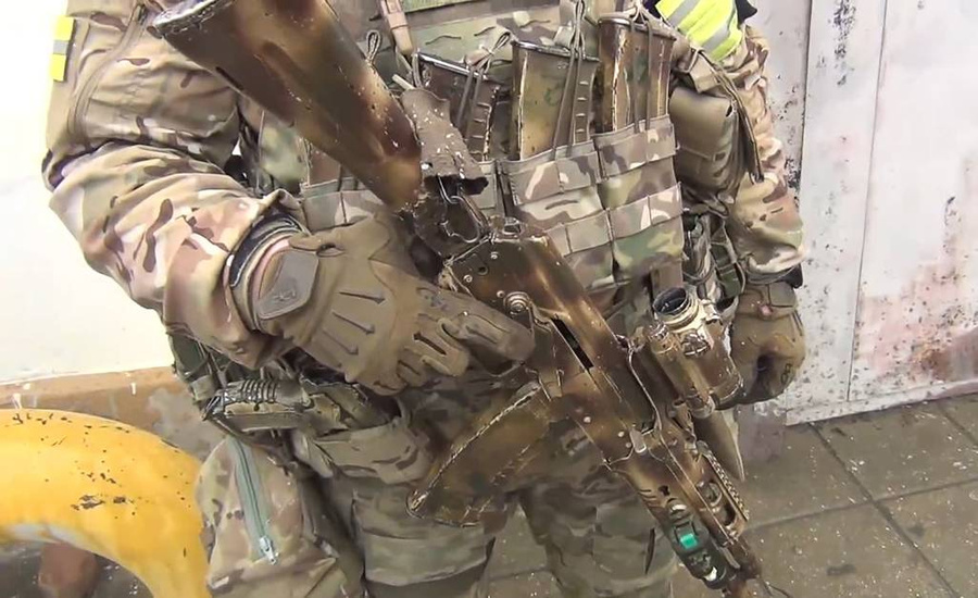 <p>Фото © ТАСС / Снимок с видео / Информационный центр Национального антитеррористического комитета (НАК)</p>