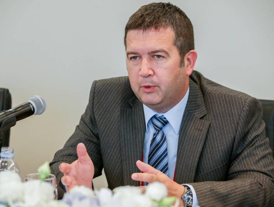 <p>Первый вице-премьер и глава МИД Чехии Ян Гамачек. Фото © ТАСС / Исакова Анна</p>