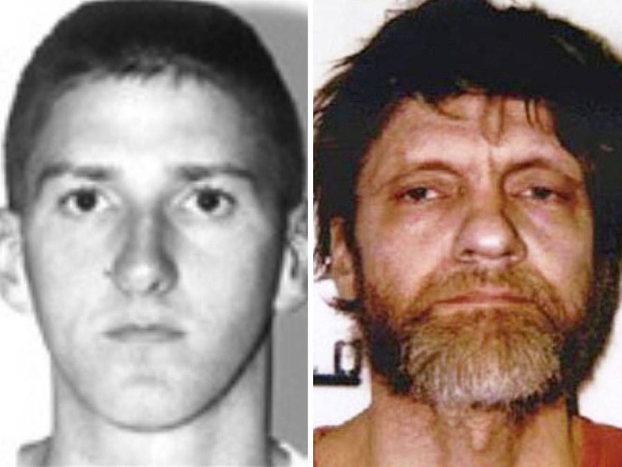 Маквей (слева) и Унабомбер. Фото © Wikimedia Commons / FBI