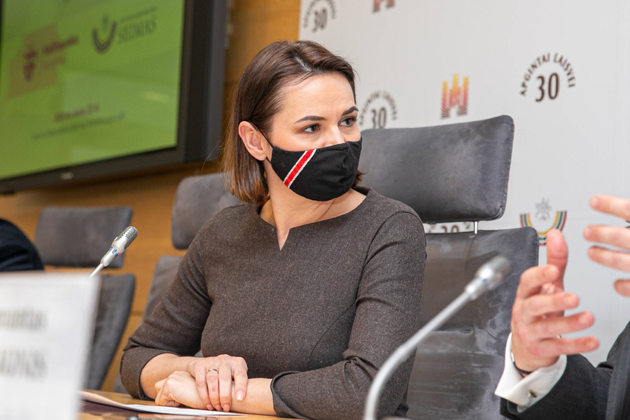 <p>Светлана Тихановская. Фото © ТАСС / Imago images / Scanpix</p>