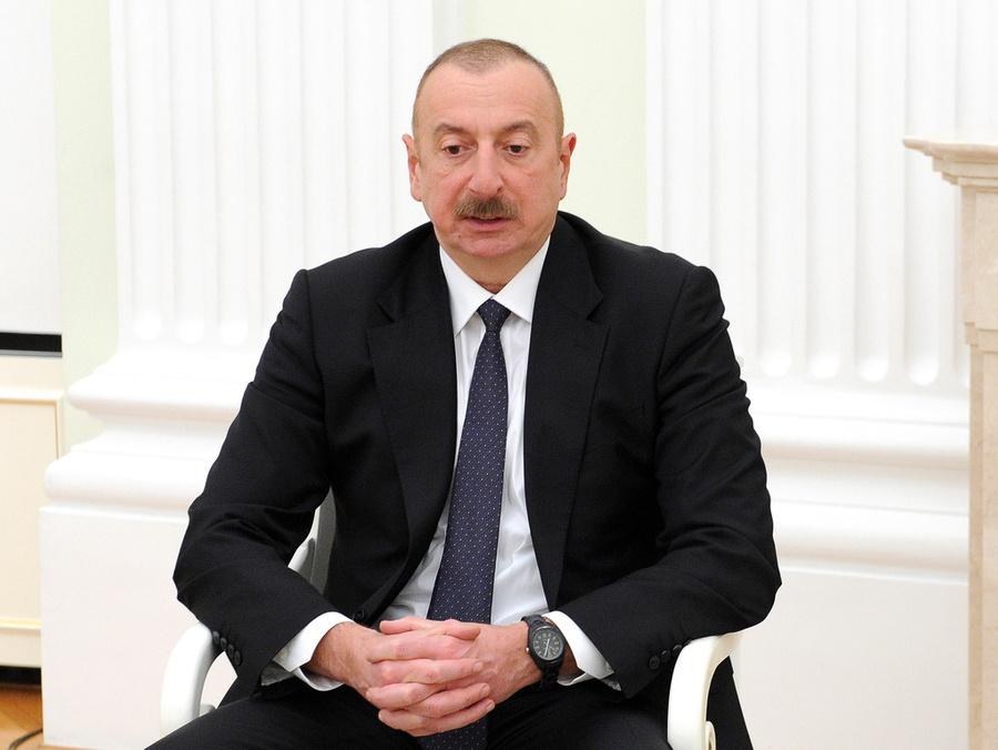 <p>Ильхам Алиев. Фото © ТАСС / Михаил Климентьев / Пресс-служба Президента РФ</p>