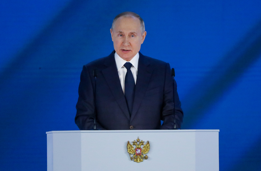 <p>Владимир Путин. Фото © ТАСС / Карпухин Сергей</p>