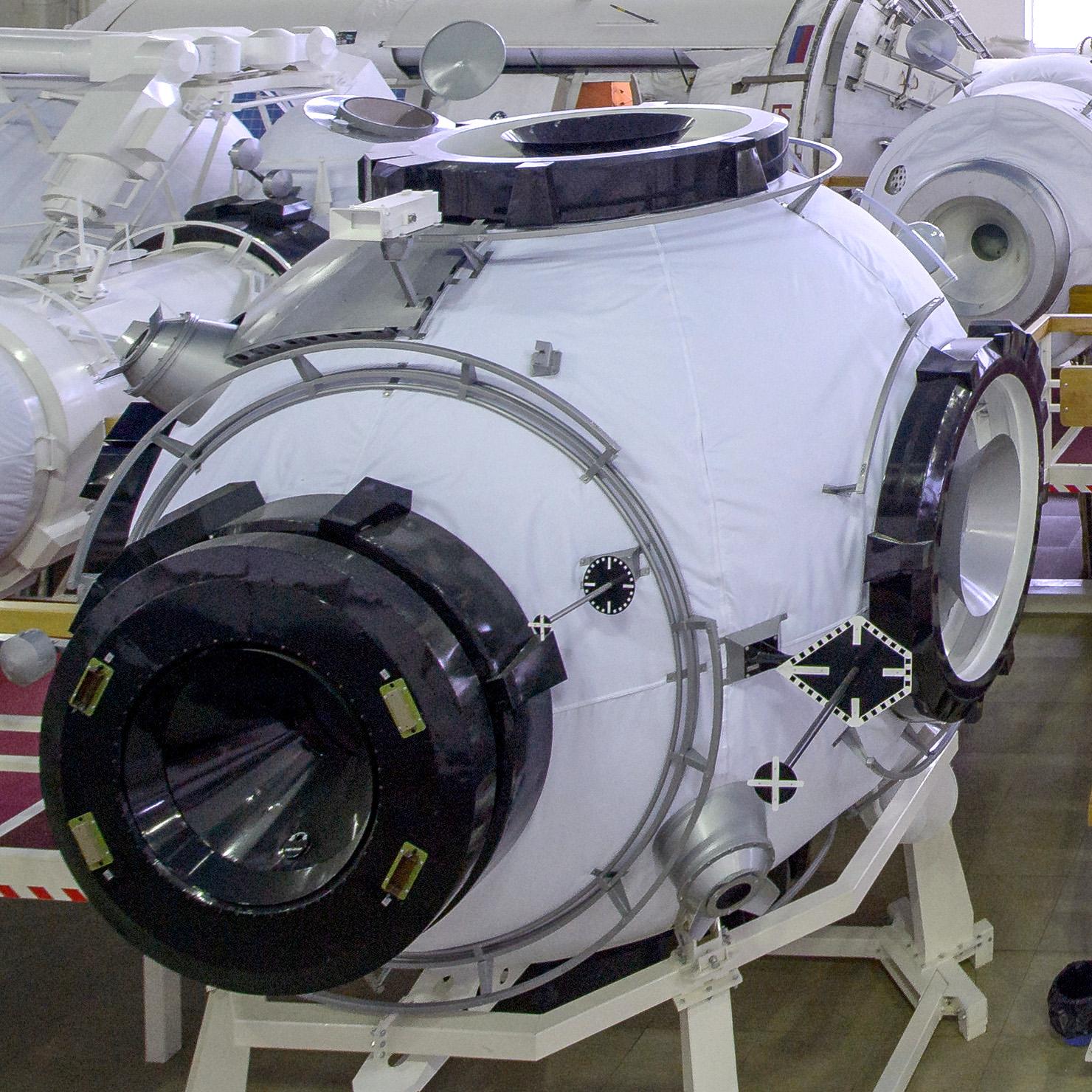 "Узловой модуль ""Причал"". Фото © Wikipedia"