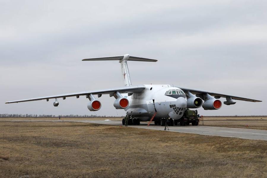 <p>Ил-78. Фото © ТАСС / Эрик Романенко</p>