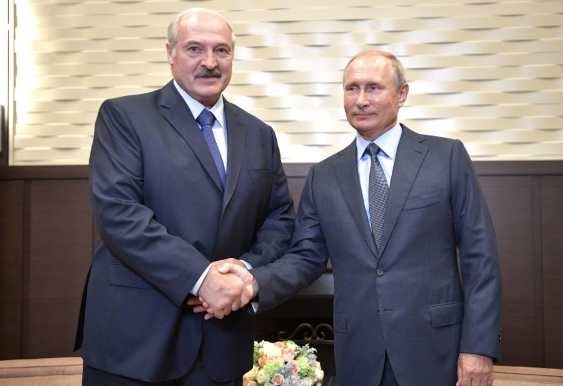 В Кремле началась встреча Путина и Лукашенко