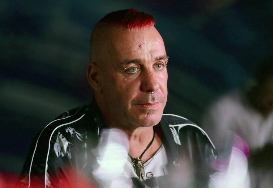 <p>Лидер рок-группы Rammstein Тилль Линдеманн. Фото © ТАСС / Прокофьев Вячеслав</p>