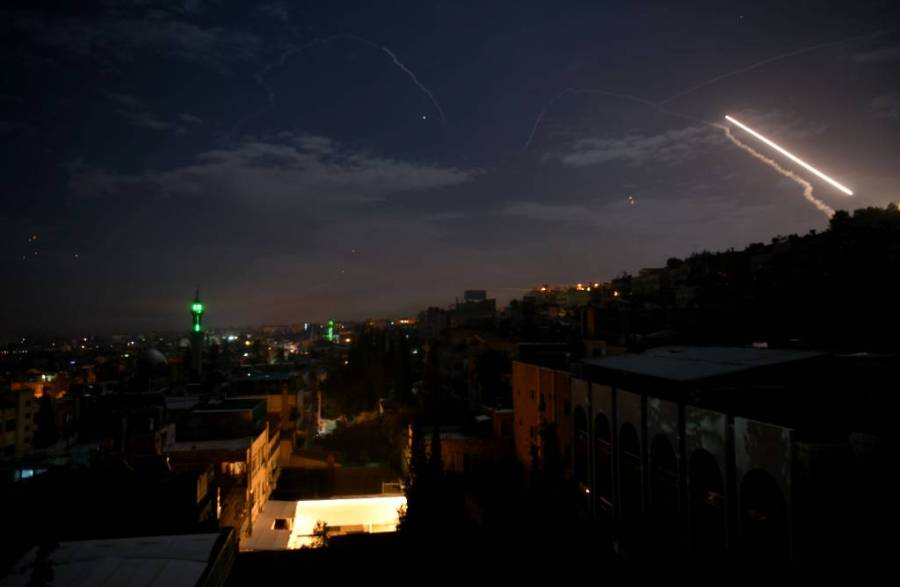Сирийские силы ПВО отразили ракетную атаку со стороны Израиля