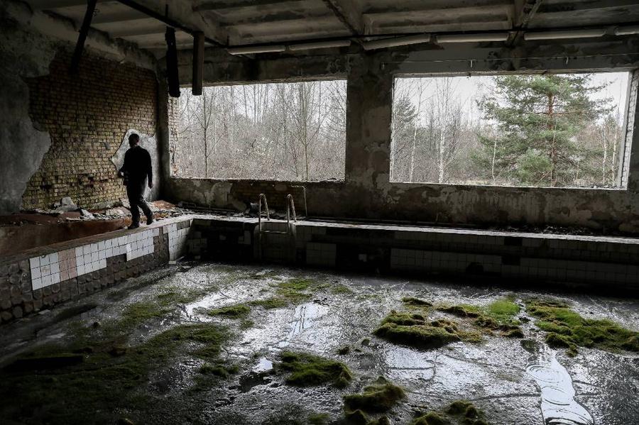 Зона отчуждения Чернобыльской АЭС. Фото © ТАСС / EPA
