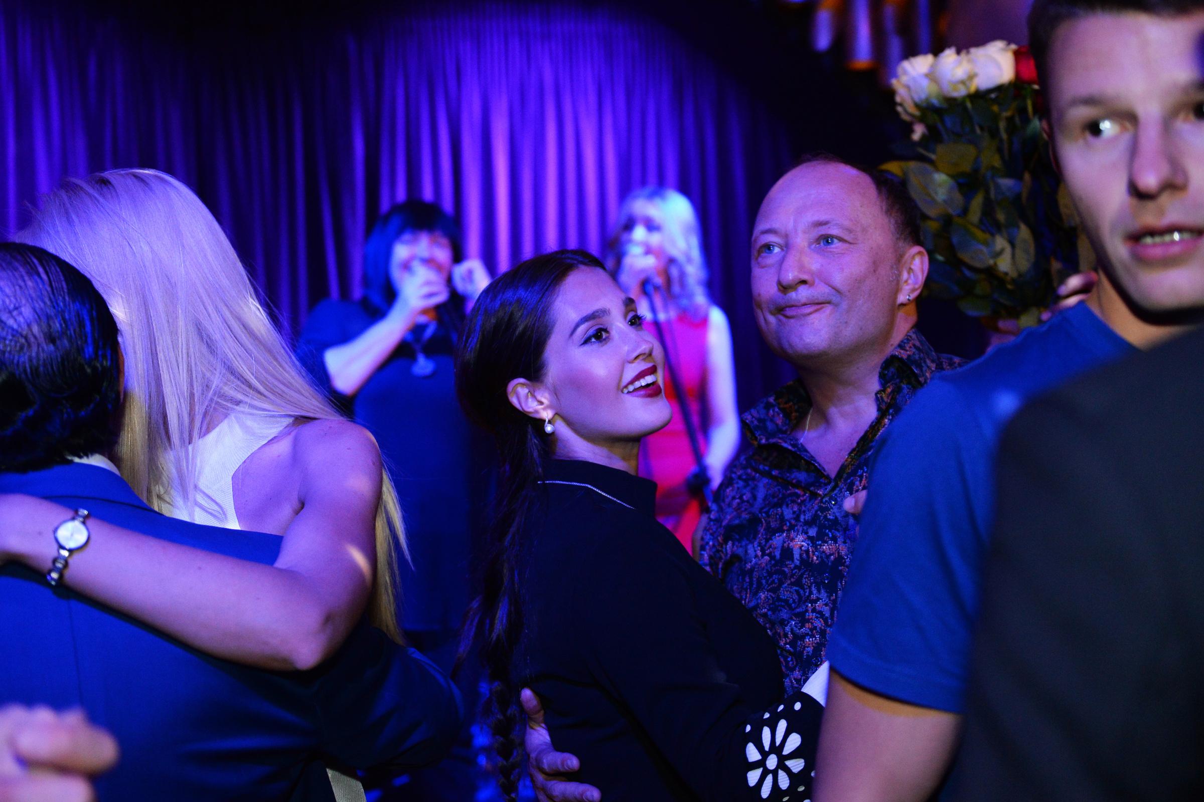 Юрий Гальцев с Марией Насыровой. Фото © L!FE