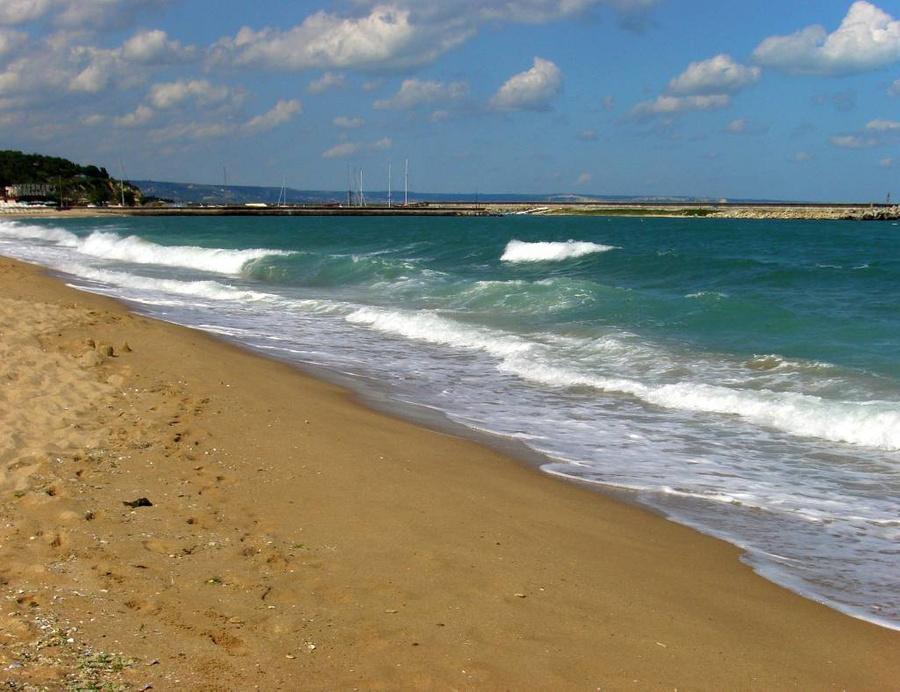 """<p>Вид на побережье болгарского курорта """"Золотые пески"""". Фото © ТАСС / Мария Деркунская</p>"""