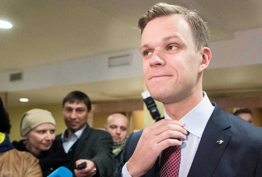 <p>Министр иностранных дел ЛитвыГабриэлюс Ландсбергис. Фото © ТАСС / AP / Mindaugas Kulbis</p>