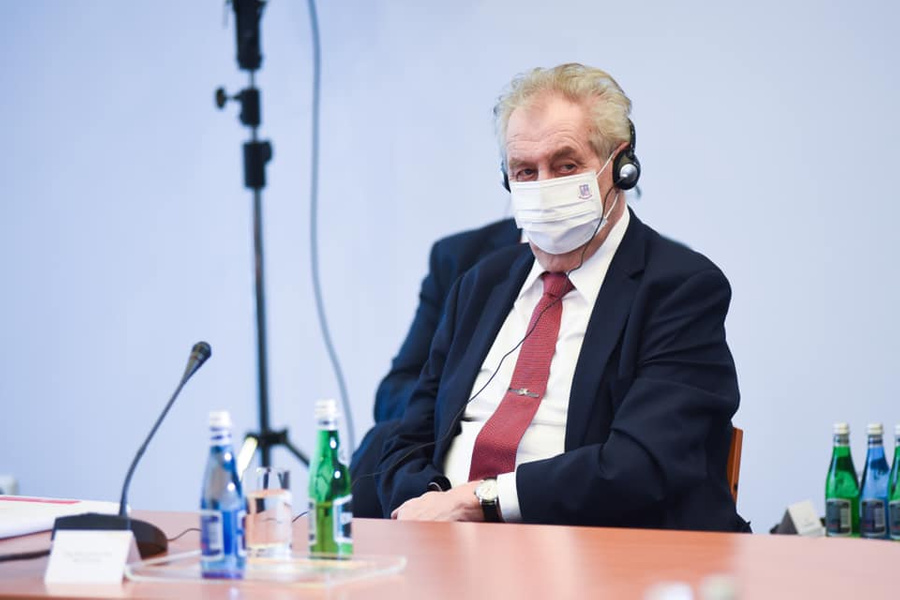 "<p>Фото © Facebook / <a href=""https://www.facebook.com/prezidentcr/photos/3712968808785517"" target=""_blank"" rel=""noopener noreferrer"">Miloš Zeman</a></p>"