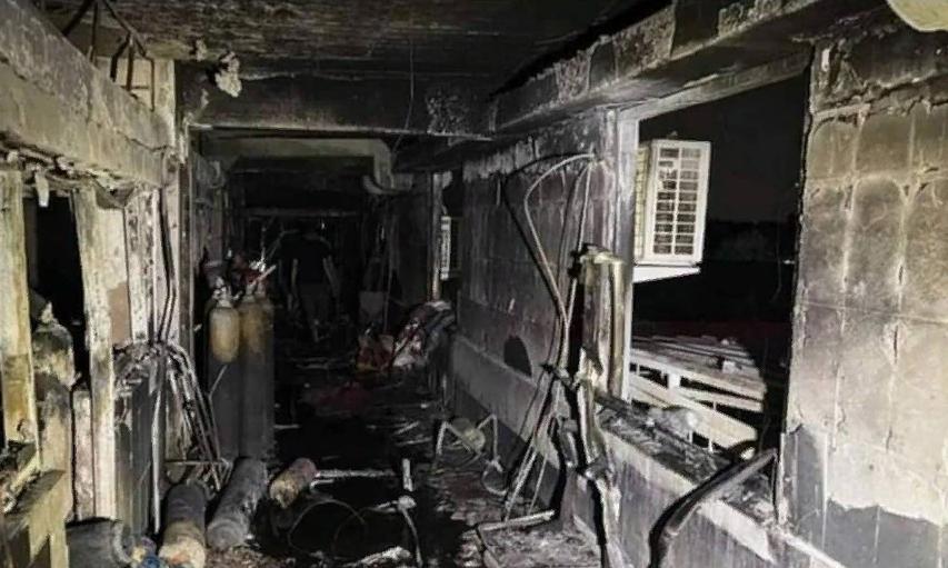 Число погибших при пожаре в иракской больнице выросло до 82 человек