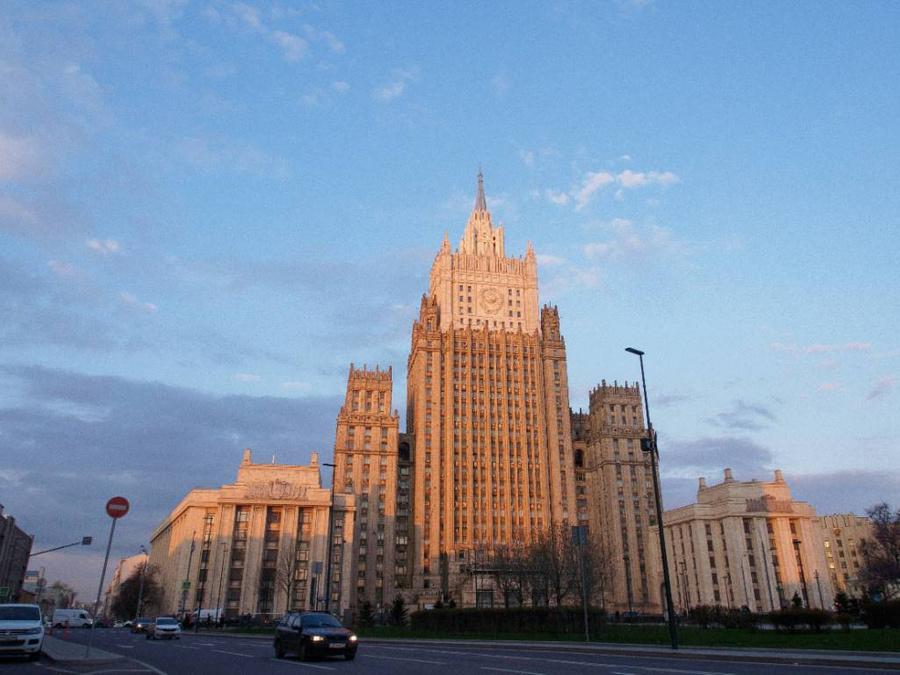 <p>Здание МИД РФ в Москве. Фото ©  Zuma / ТАСС</p>
