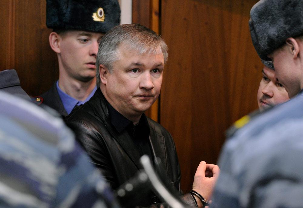Игорь Изместьев (бывший деловой партнёр Свердлова) отбывает пожизненный срок за убийства и терроризм. Фото ©ТАСС / Валерий Шарифулин