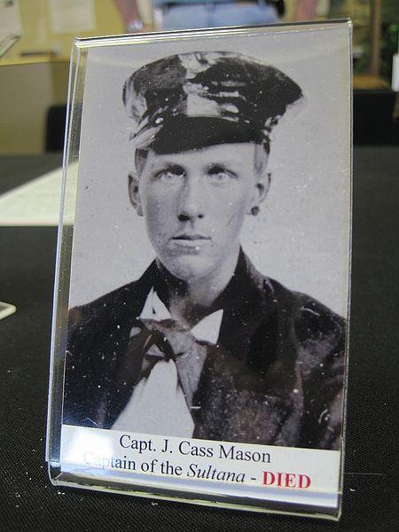 Капитан судна Джеймс Касс Мейсон. Фото ©Wikipedia