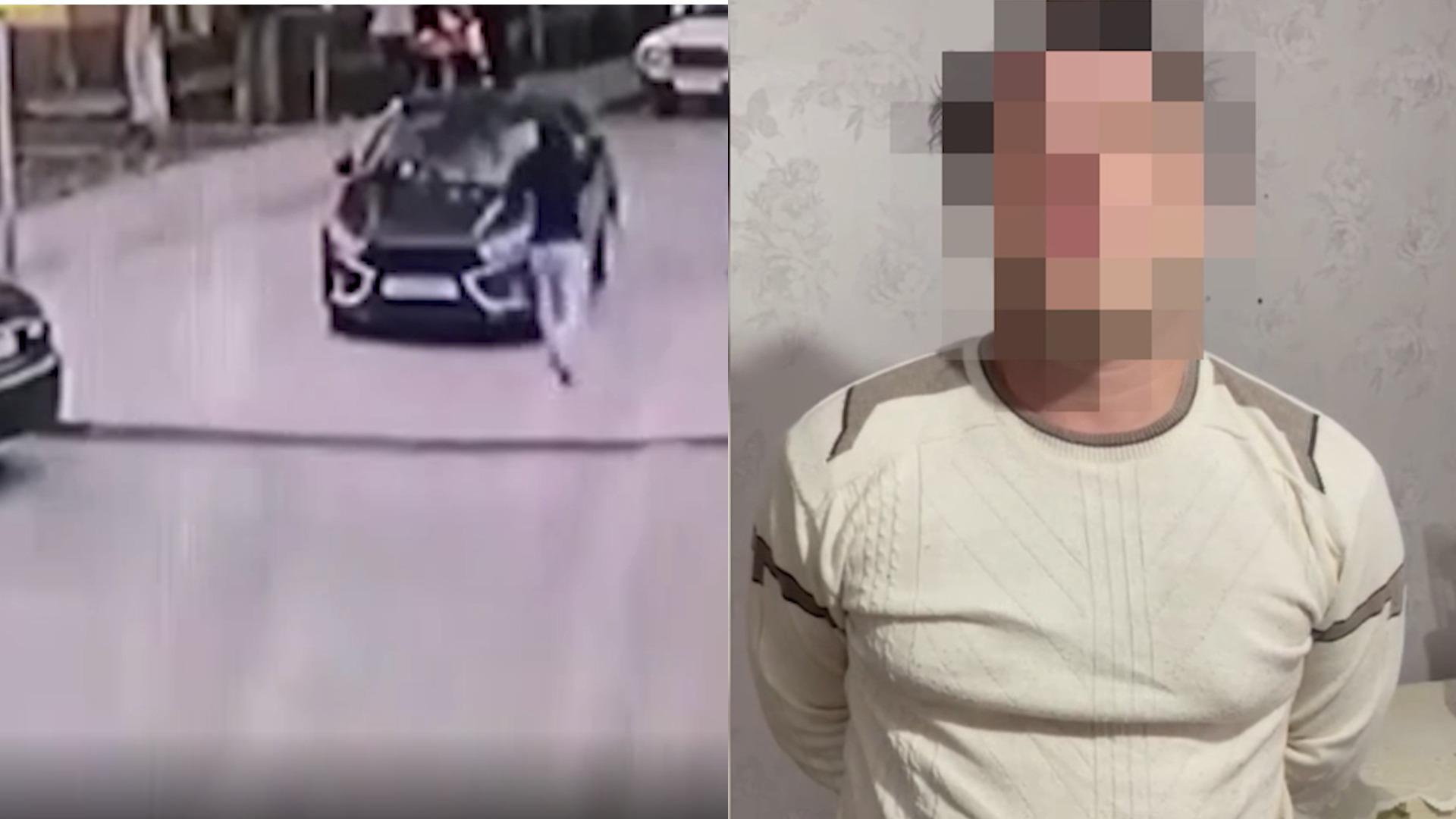 Полиция Пятигорска задержала участников перестрелки в стиле 90-х  видео