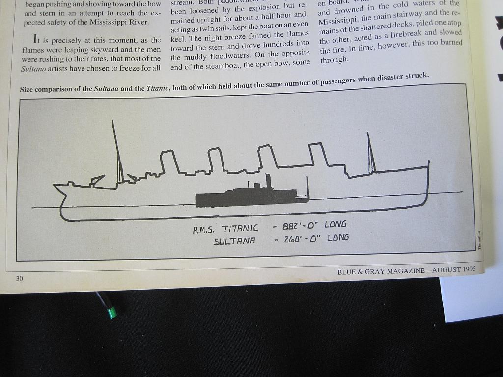 """Сравнение """"Султанши"""" и """"Титаника"""". Фото ©Wikipedia"""