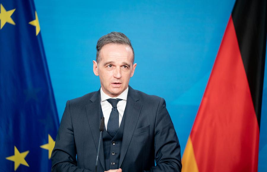 <p>Глава МИД Германии Хайко Маас. Фото © Dpa</p>