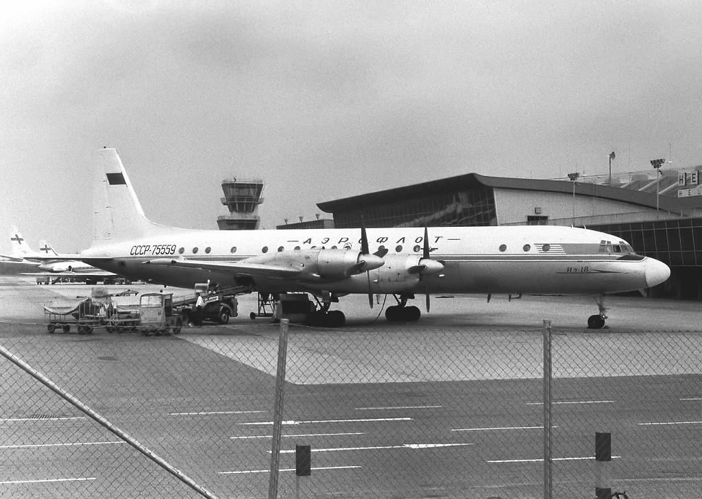 Разбившийся самолёт за один год и девять месяцев до катастрофы. Фото © Wikipedia