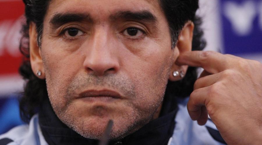 <p>Диего Марадона. Фото © ТАСС / РА</p>