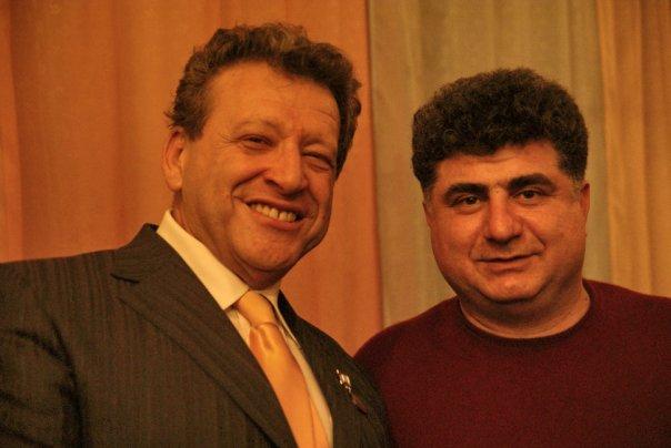 Борис Грачевский (слева) с Аркадием Григоряном. Фото © VK / Атёка Григорян