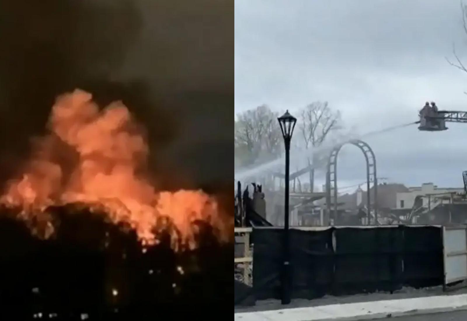 Кадры из видео © YouTube / CTV