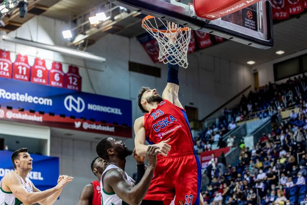 Баскетбольный ЦСКА вышел в Финал четырёх Евролиги