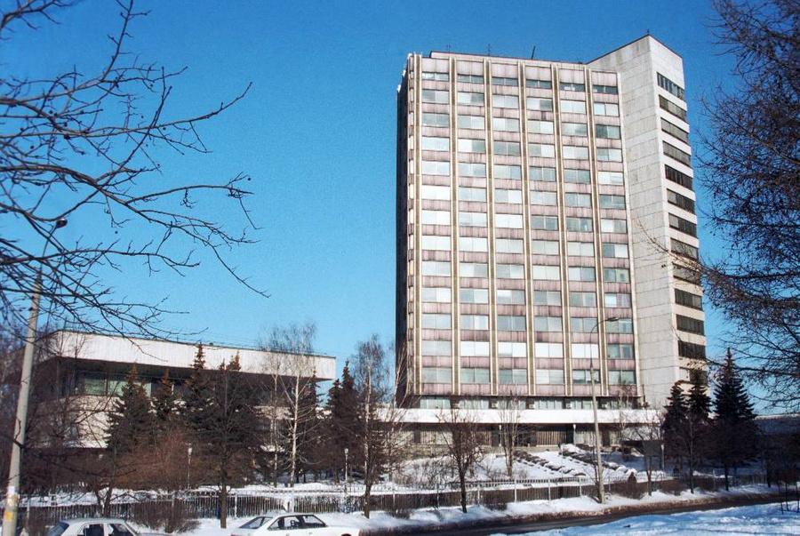 Здание Гохрана РФ в Москве, 1997 год. Фото © ТАСС / Людмила Пахомова voiceofmoscow